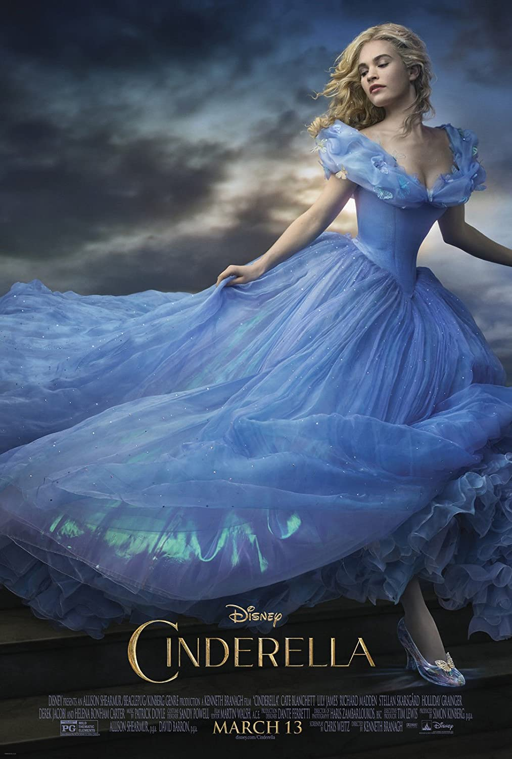 Maxi Poster Movie Cendrillon Multicolore