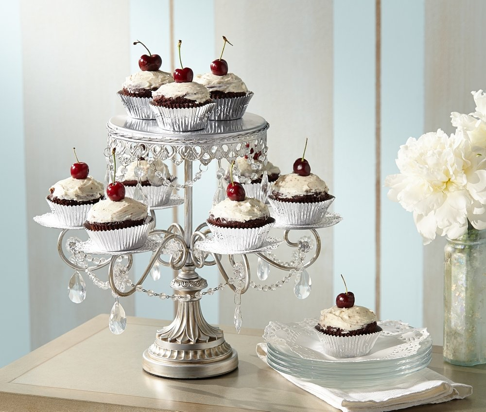 Amazon dahlia studios elise antique silver crystal 12 high amazon dahlia studios elise antique silver crystal 12 high cake and cupcake stand home decor accents cake stands arubaitofo Image collections