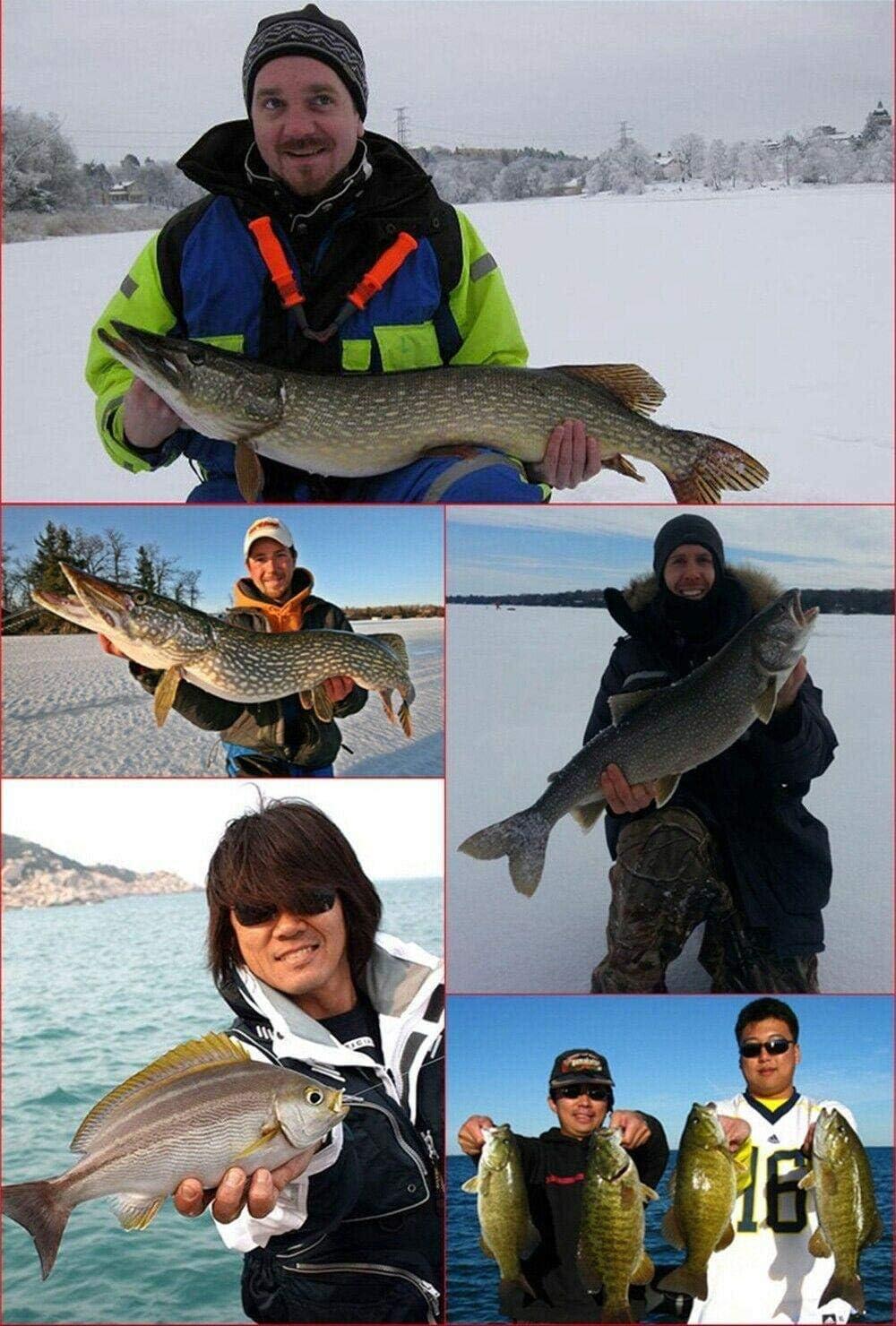 Petilleur 43 Fishing Lure Set Mixed Minnow Popper Bait Wobbler Crankbait Tackle Bass