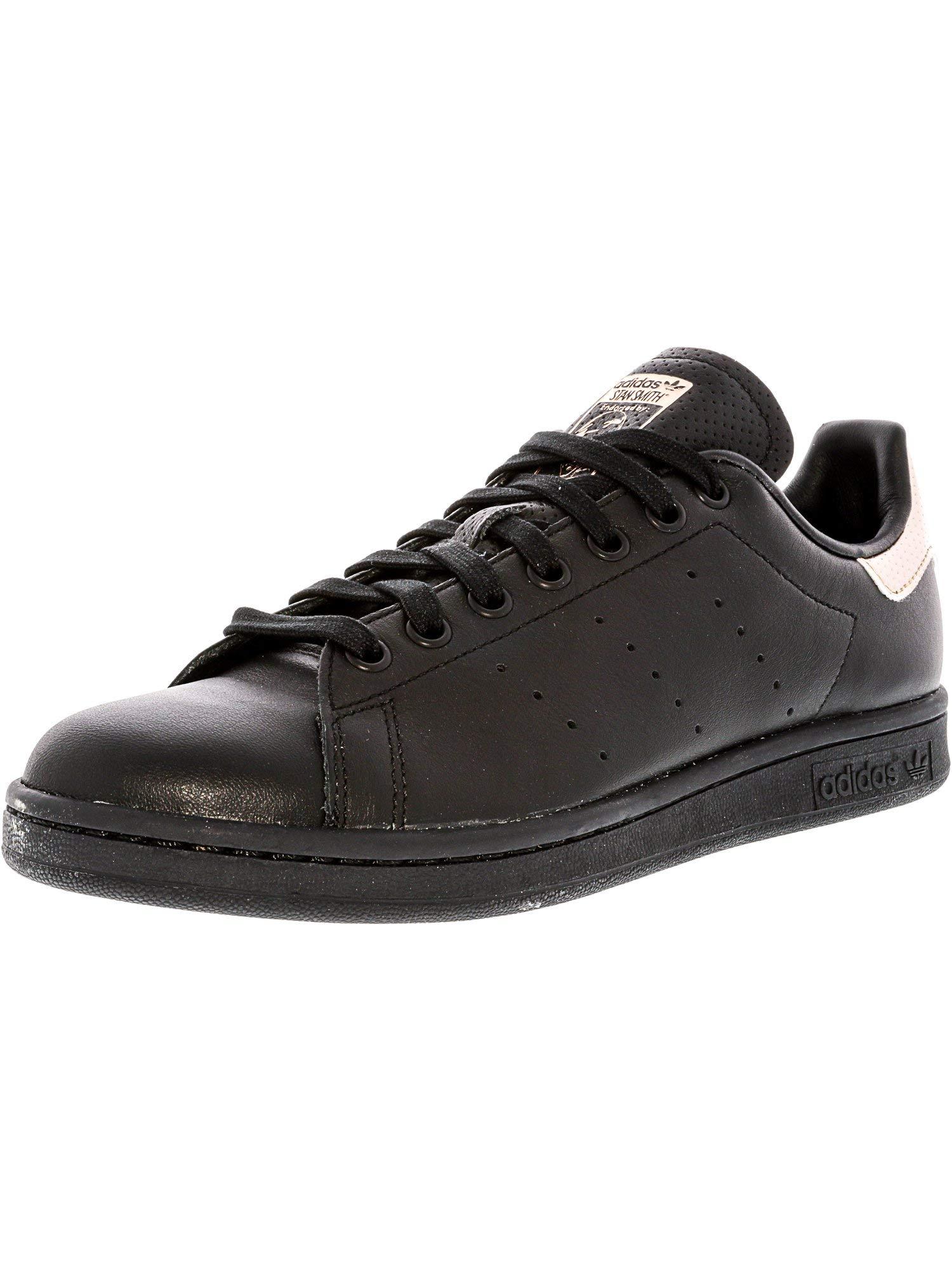 uk availability ec899 1fcc4 Galleon - Adidas Originals Women s Stan Smith W Fashion Skateboarding  Sneaker, Black Rose Gold Black, 7.5 M US