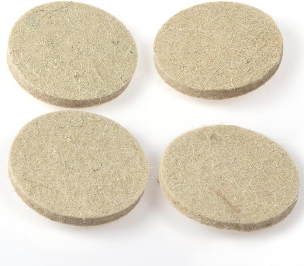 Roloc Style Almohadillas para rueda de pulido de lana comprimida 10 unidades