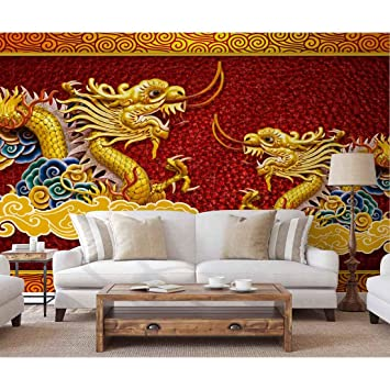 Nish 3d Wallpaper For Living Room Wall Mural 094 Vinyl Wall Covering Xxs 4ft X 2 7ft 1pc Amazon In Home Improvement