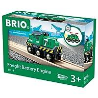 Brio 33214 - Locomotiva per Treno Merci a Batterie