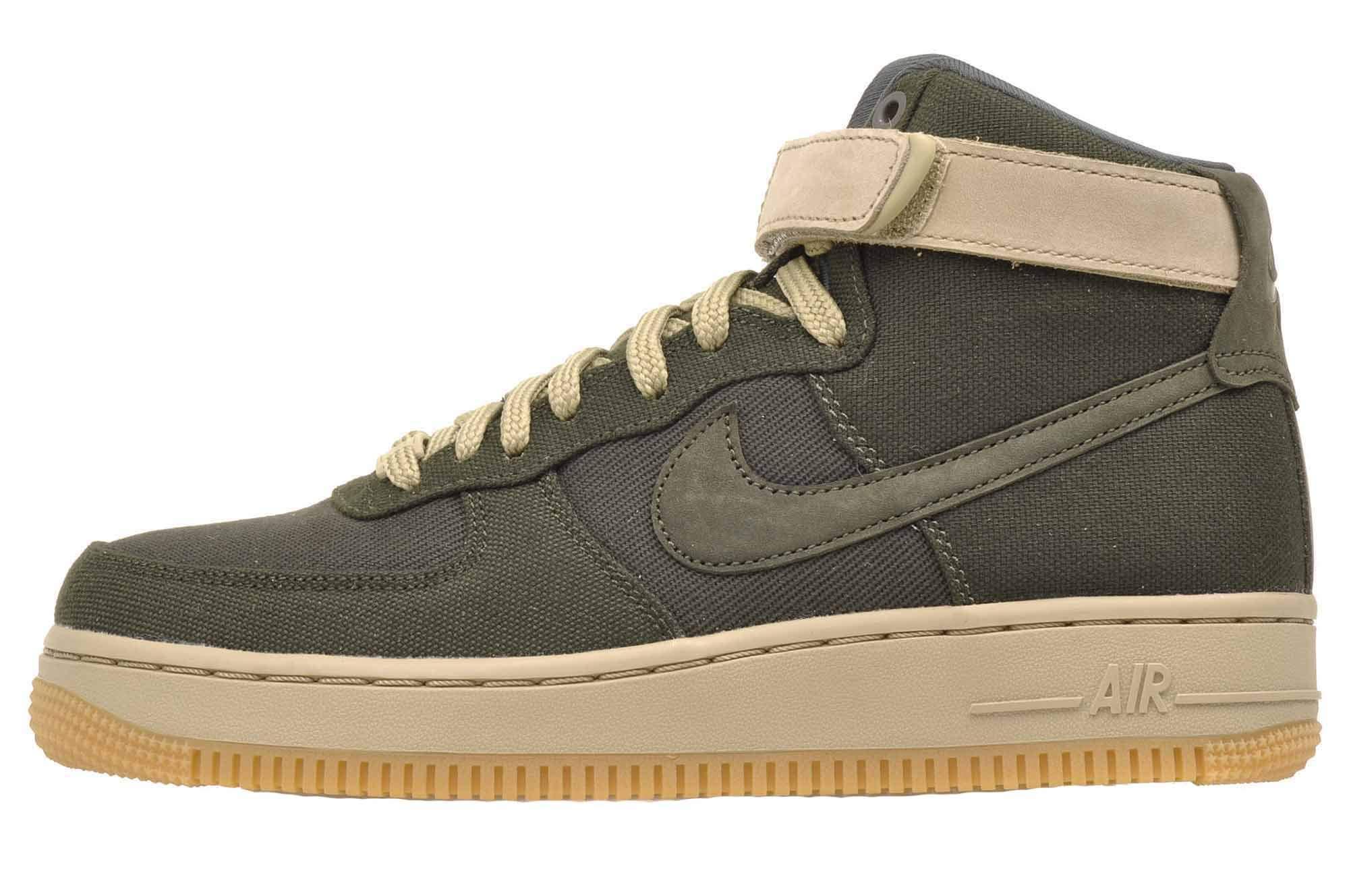 cheap for discount 5d625 5f44b Galleon - Nike Women s Air Force 1 Hi UT Basketball Shoes, AJ2775 300  Sequoia Sequoia-Neutral Olive (9 B(M) US)
