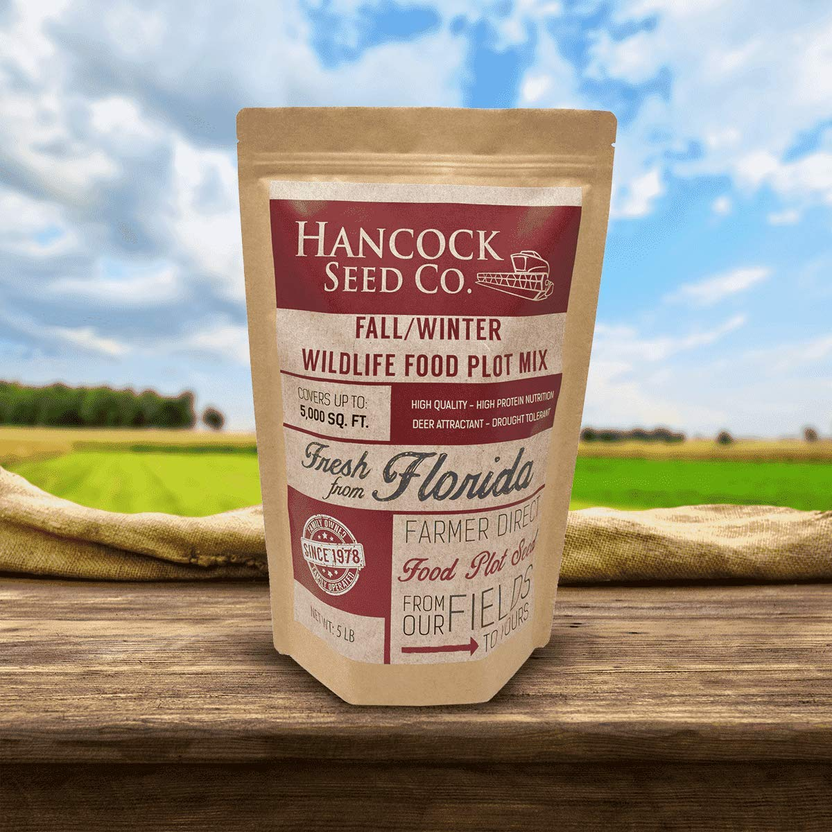 Hancock's Fall & Winter Food Plot Seed Mix by Hancock Seed Company