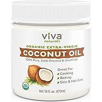 Deals on Viva Naturals Organic Extra Virgin Coconut Oil, 16 Ounce