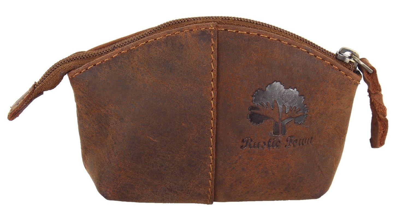 Pequeña bolsa de cuero del monedero de cuero de la vendimia de las mujeres de la PNR Craft CP110704FLR-UK