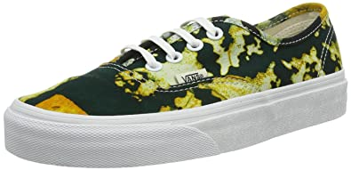 90749ae825 Vans Unisex Authentic Delia Sneakers Batikyellow M3.5 W5