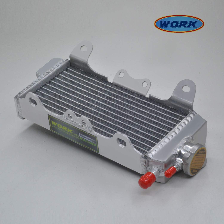 hose blue Aluminum alloy radiator FOR YAMAHA YZ450F YZ 450F WR450F 07-09 08 2007 2008 2009