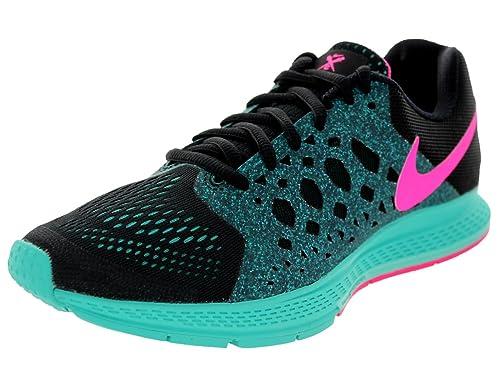 quality design 4ac0d 489f9 Nike Women s Zoom Pegasus 31 Black Hyper Pink Hyper Jade Running Shoe 6.5  Women US  Amazon.ca  Shoes   Handbags