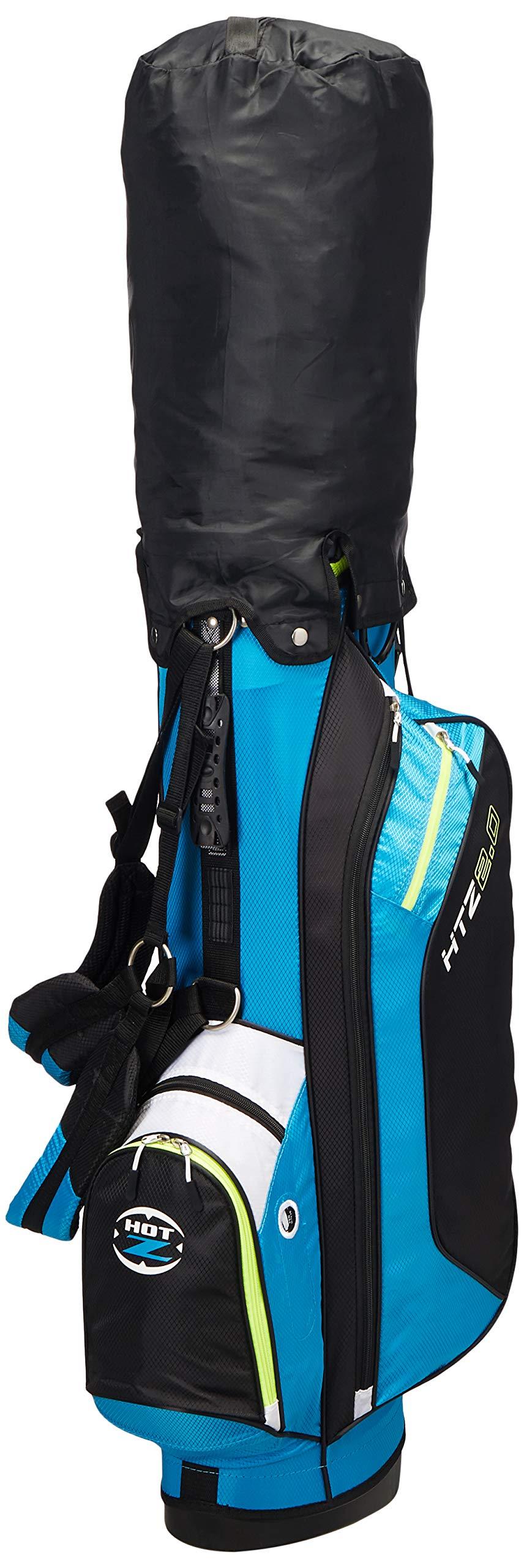Hot-Z 2017 Golf 2.0 Stand Bag, Caribbean Blue