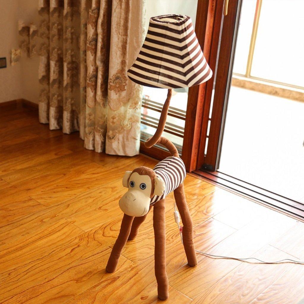 Standleuchten Kreative Cartoon Stehlampe Affe Stehlampe Schlafzimmer Nachttischlampe Garten Wohnzimmer Lampe Cartoon Kinder Geschenke