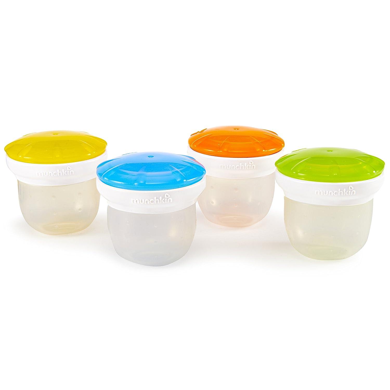 Munchkin 4 pieza silicona congelador y almacenamiento vasos ...