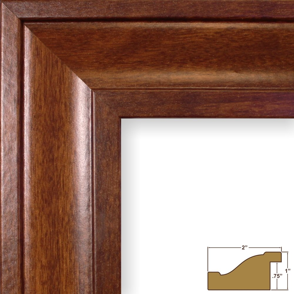 (クレイグフレーム) Craig Frames フォト/ポスターフレーム 滑らか仕上げ 幅2インチ さまざまな色 10x13 ブラウン 760311013AC B0091IQEK2 10x13|カナディアンウォルナット カナディアンウォルナット 10x13