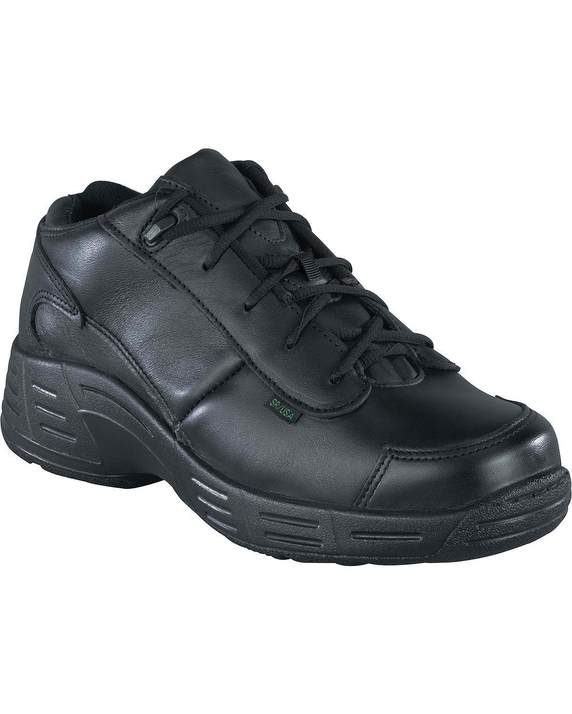 Reebok Men's Postal TCT Mid-High Oxford Shoes USPS Approved Black 7.5 EE US