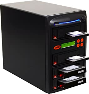Systor 1 to 3 SATA 300MB/s HDD SSD Duplicator/Sanitizer - 3.5