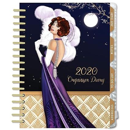 Agenda organizadora 2020, diseño de claire de coxon: Amazon ...