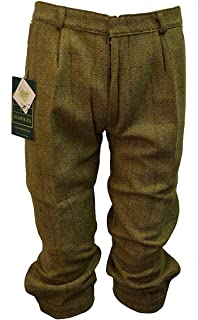 18c77e487a3 Walker and Hawkes Men s Derby Tweed Shooting Plus Fours Breeks Trousers  Light Sage