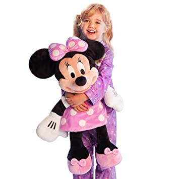 Disney Store Large Jumbo 27 Minnie Mouse Plush Toy Stuffed Character Doll By Generic
