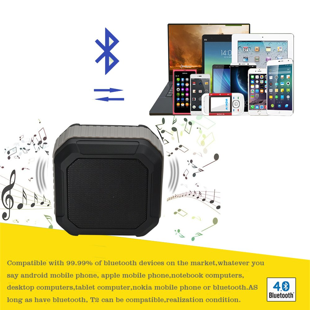 Protable Wireless Speaker with 10 Playing Hours for Outdoor.