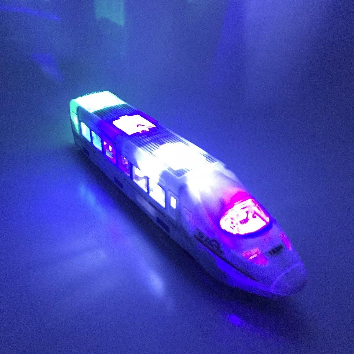 Electric Train Car Toy with Flashing Lights and Exciting Music, Best Birthday Gift for Toddlers Boys (Ages 3 years & Up)