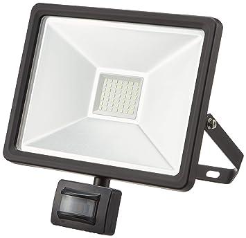 Foco Proyector LED de exterior con detector de movimiento, 50 W ...