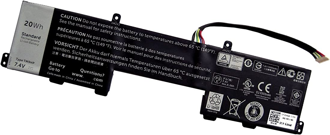 PC Parts Unlimited YY6DR Dell Latitude 7350 Keyboard Dock Battery ...