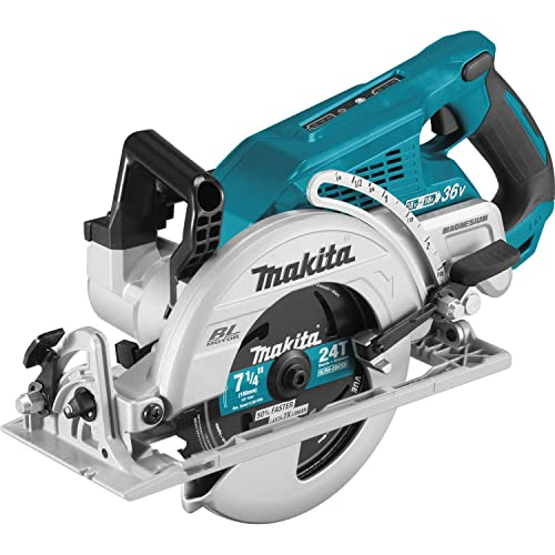 Makita XSR01Z 18V X2 LXT Lithium-Ion 36V Brushless Cordless Rear Handle 7-1 4 Circular Saw, Tool Only Renewed