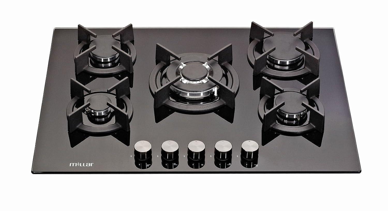Millar GH7051XB 70 cm gas-cocina vitrocerámica ...: Amazon ...