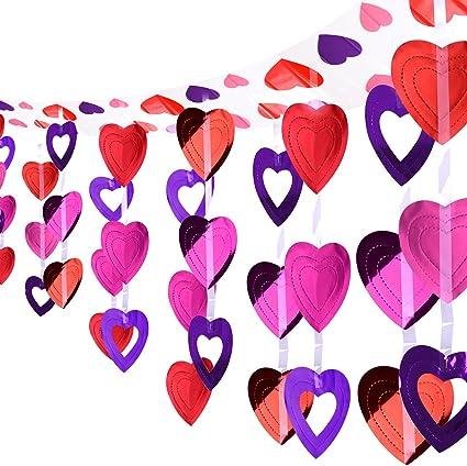 9 feet Rustic Wedding garland decor Venue Decorations Supplies Hearts NEW LOVE