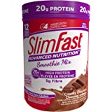 Slim Fast Advanced Nutrition, Meal Replacement or Weight Loss Shake, 20g High Protein Smoothie Powder, Creamy Chocolate, Glut