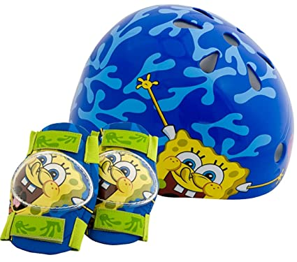 3bd03d125fc Amazon.com : SpongeBob Child Pacific Nickelodeon Hardshell Helmet ...