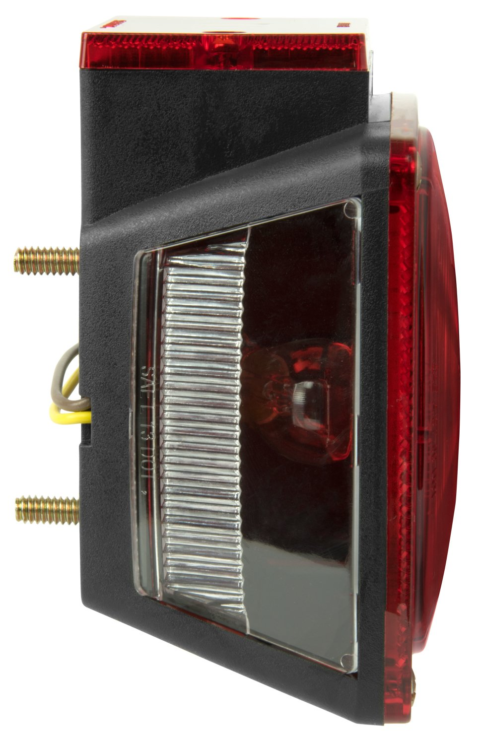 Blazer International Trailer /& Towing Accessories Red Pack of 48 Blazer T83B-48 7-Function Square Combination Stop//Tail//Turn Light-48 Pack