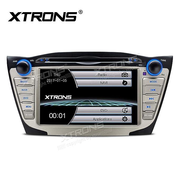 XTRONS 7 Inch HD Digital pantalla táctil coche reproductor de DVD para coche Radio estéreo pantalla Mirroring función de navegación GPS para Hyundai ...