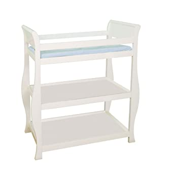 Attractive Delta Changing Table, Ivory White