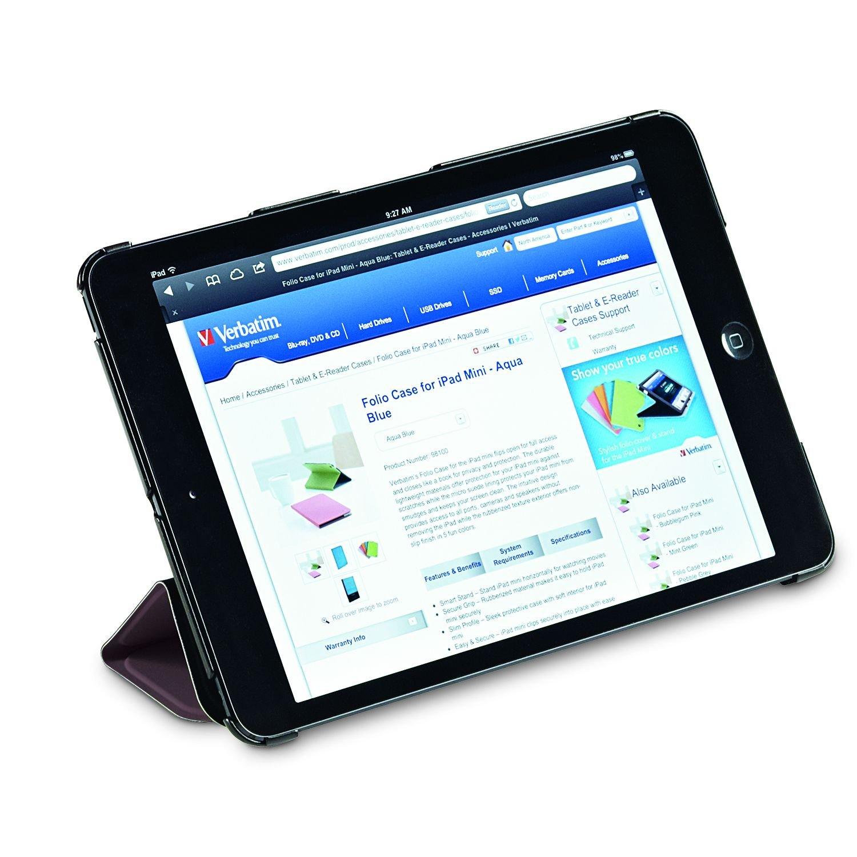 Verbatim Folio Flex Case for iPad Mini (1,2,3), Mocha 98373 by Verbatim (Image #3)
