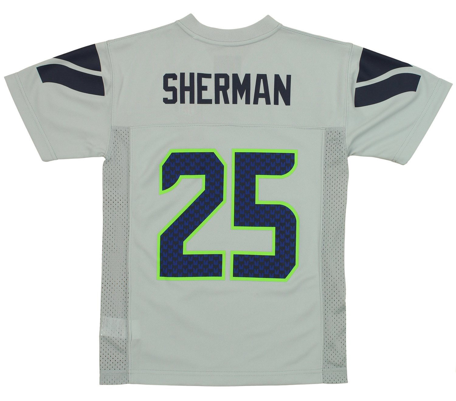 Amazon.com   Outerstuff NFL Youth Seattle Seahawks Richard Sherman  25  Jersey 620af0920976