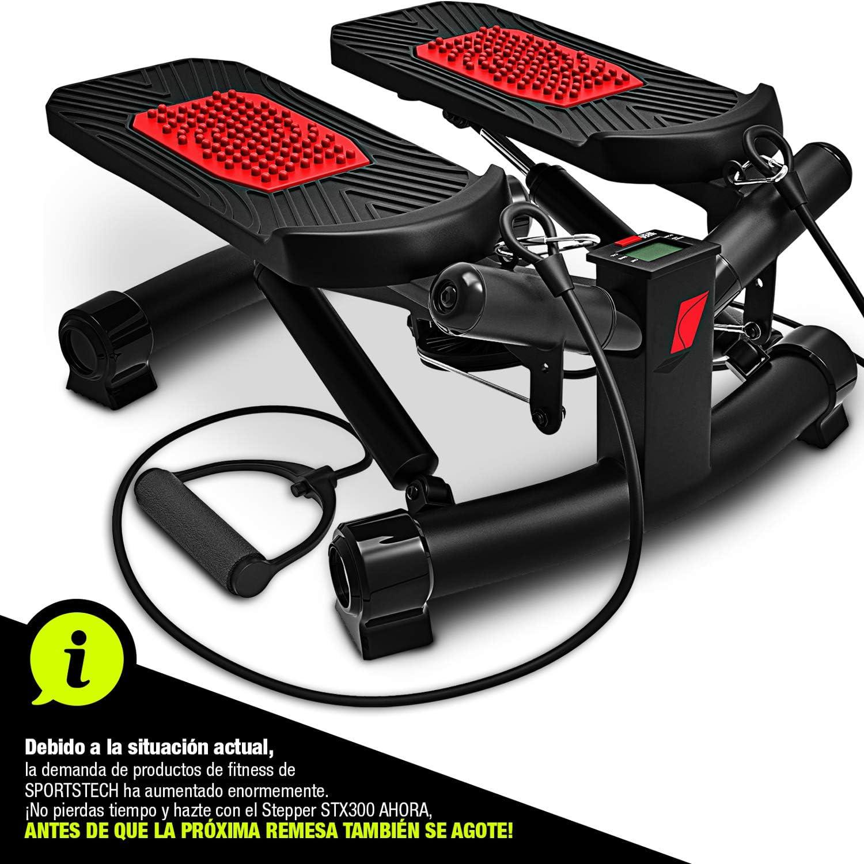 Sportstech Twister Stepper 2 en 1 Cuerdas de Resistencia - STX300 ...