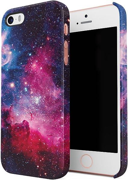 Cosmic Milkyway Galaxy Stars Stardust Tumblr Coque de Protection Fine en Plastique Housse Etui Rigide pour iPhone 5 & iPhone 5s & iPhone Se Slim fit ...