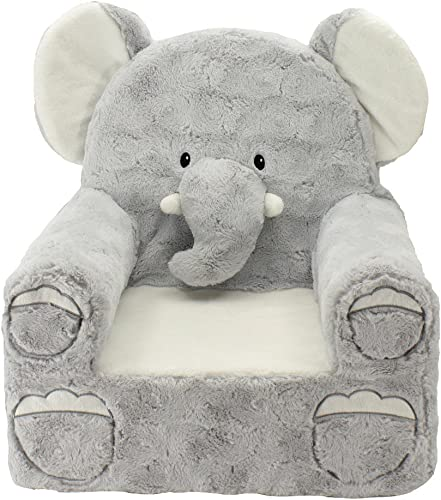 Animal Adventure Sweet Seats Plush Elephant Chair Kids Furniture