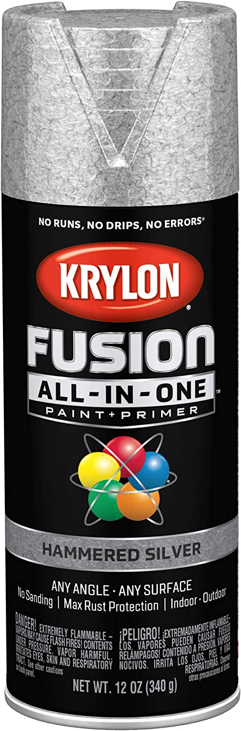 Krylon K02788007 Fusion All-In-One spray-paints, Silver