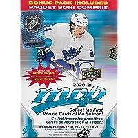 2020 2021 Upper Deck MVP NHL Hockey Series Unopened Blaster Box of 21 Packs with Chance for Rookies Plus #1 Draft Picks…