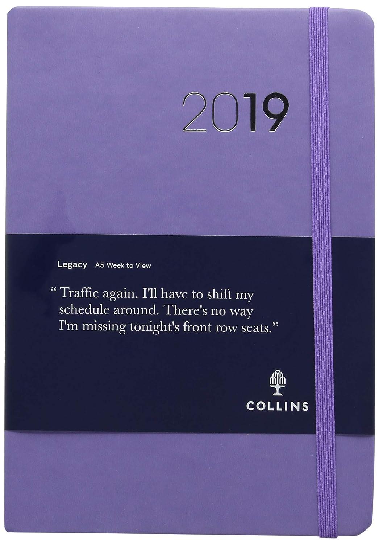 Collins CL53 A5 2019 Legacy - Agenda semanal con vista FSC ...