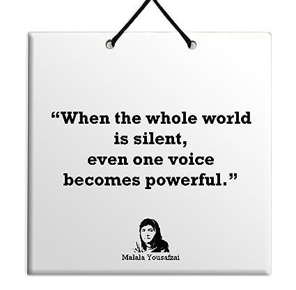 Malala Quotes | Amazon Com Body Soul N Spirit Quotes Malala Yousafzai