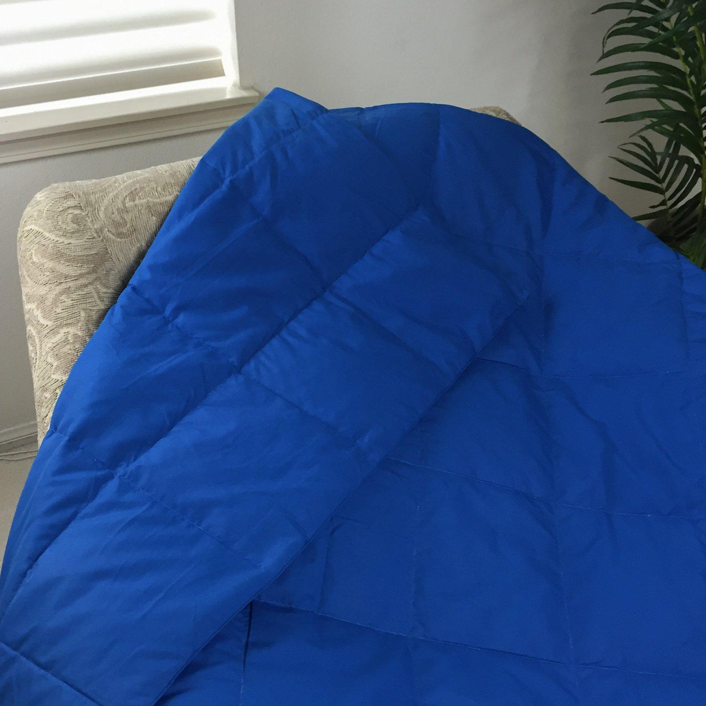 Amazoncom Luxlen Seasons Sage Down Throw Blanket for Couch Sofa