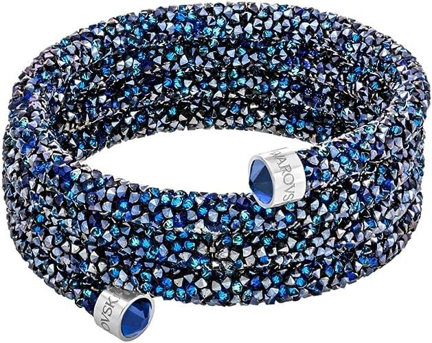 Swarovski Crystaldust Large Bleu Bracelet 5294928: Amazon.fr: Bijoux