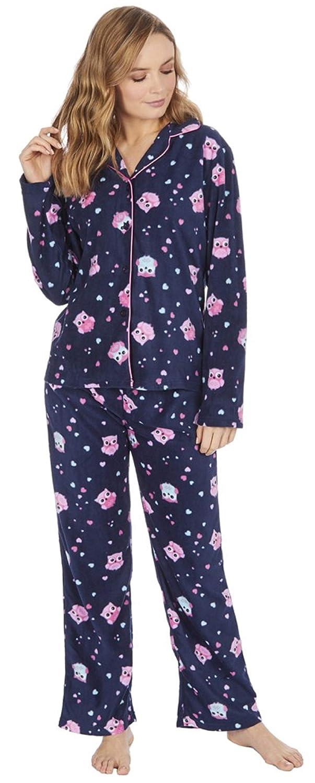 KATE MORGAN Ladies Soft /& Cosy Fleece Pyjamas