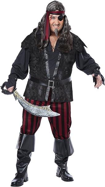 California Costume Ruthless Pirata Disfraz de Rogue Patrones para ...