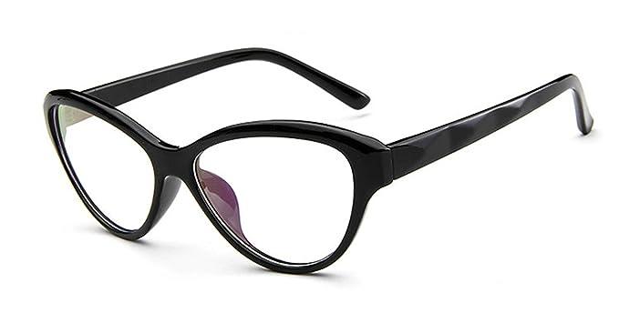 Amazon.com: Surprising Day Style Clear Lens Eyeglasses Frame Women ...