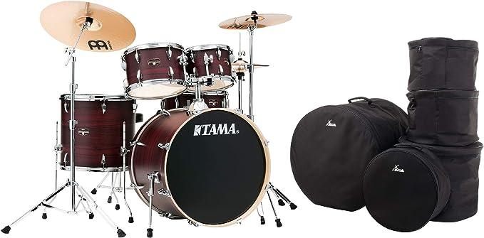 Tama IE52KH6W-BWW Imperialstar Burgundy Walnut Wrap - Juego de accesorios para batería (incluye funda): Amazon.es: Instrumentos musicales